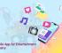 mobile app for entertainment